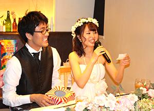 cc87f73b50b9e ゲストの運命は新郎新婦のあなたが決める! ゲストの皆さんの名前が記載された紙を新郎新婦が引く単純でドキドキするゲーム!